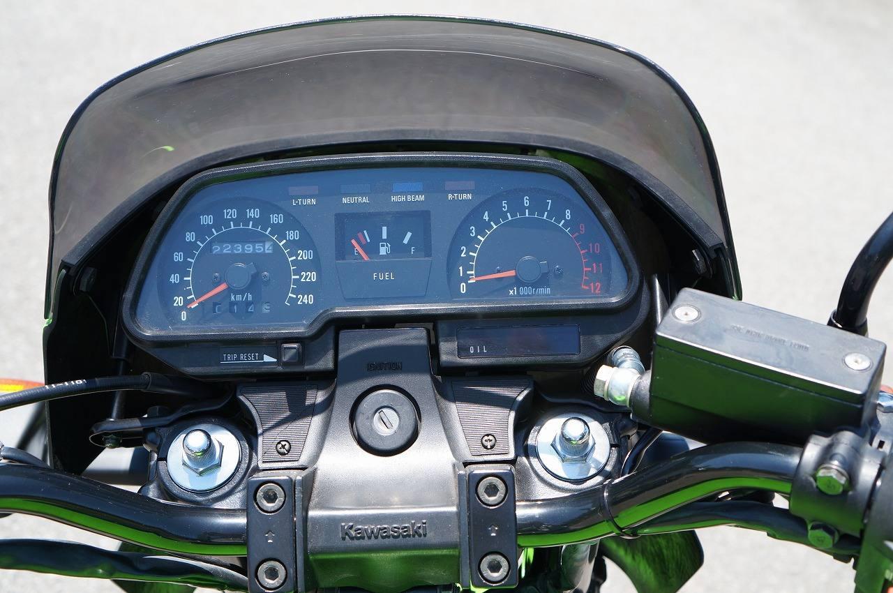 Z1100R メーター